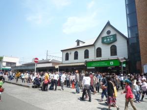 鎌倉駅!わんさかP1050175