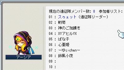 魔獣2回戦討伐メンバー20090214