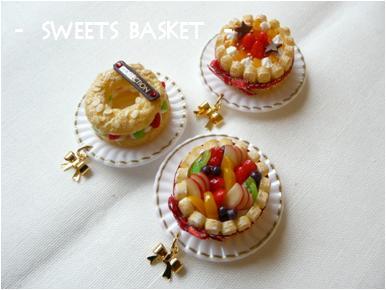 ケーキのマグネット1-2