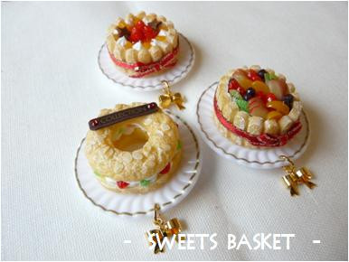 ケーキのマグネット1