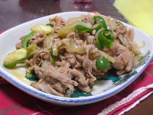 豚肉と野菜のコチュジャン炒め