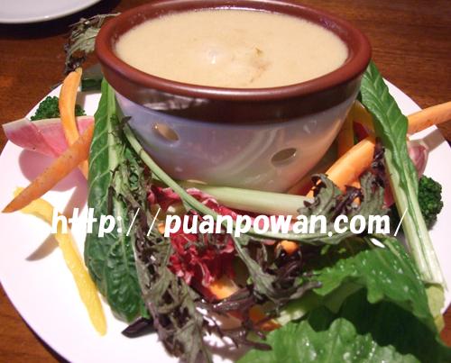 新鮮野菜10種のバーニャカウダ