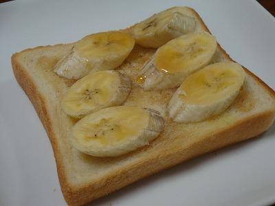 110327メープルバナナトースト