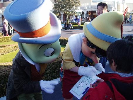 ピノキオ&ジミニークリケット