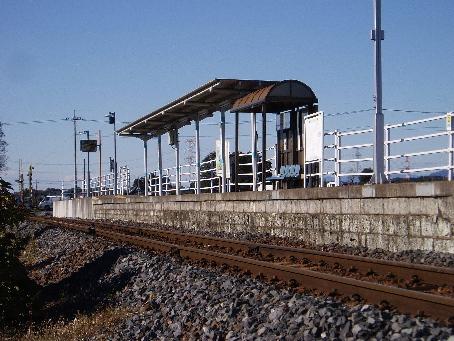 下野花岡駅