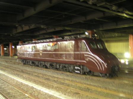 国鉄EF55形電気機関車(通称ムーミン)