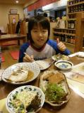 TBB西日本ツアー西条夕ご飯
