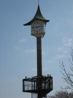 二の宮公園時計台