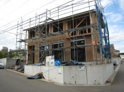 研究学園E27-5 建築様子