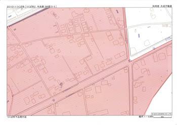 下広岡 区域指定地図