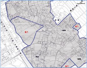 倉掛 区域指定地図