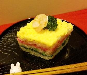 ひし形ちらし寿司