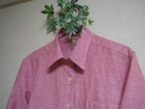 メンズレッドシャツ2