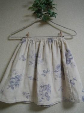 ブルーローズスカート2