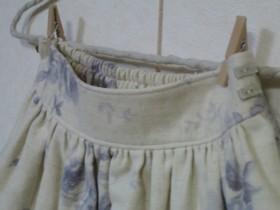 ブルーローズスカート3