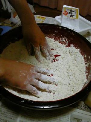 蕎麦打ち1