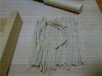 蕎麦打ち17