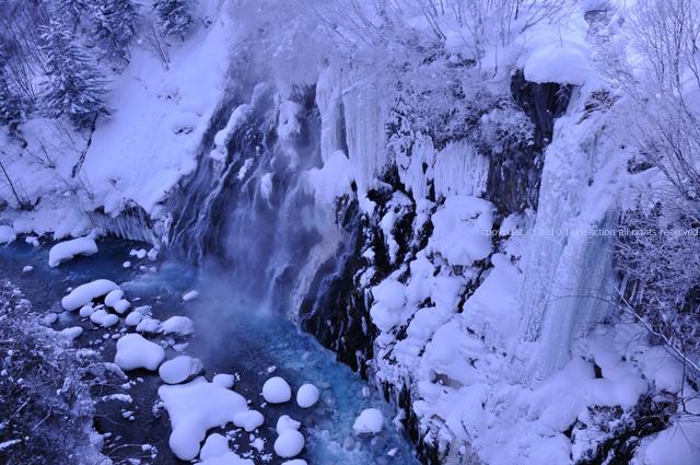 2012・3美瑛白ひげの滝