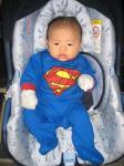 スーパーマンでした♪