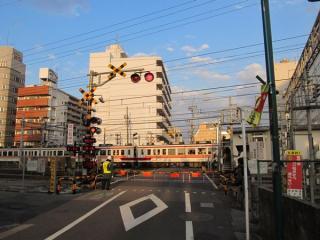 伊勢崎線38号踏切
