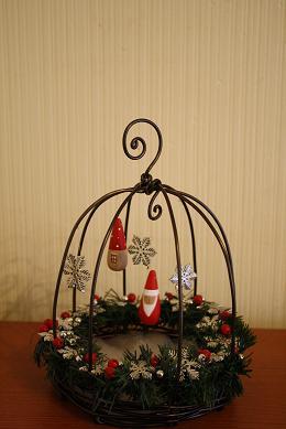 クリスマスカゴ