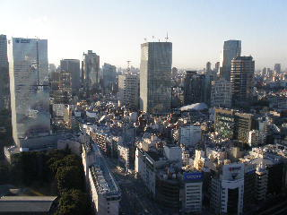 赤坂プリンススイート景色
