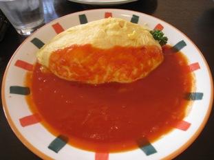 バターライス&トマトソース