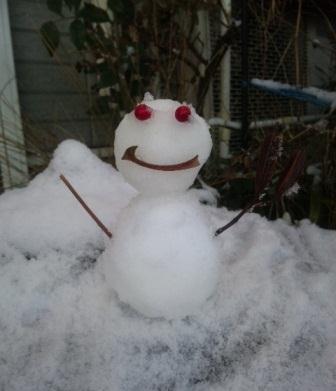 2012雪だるま