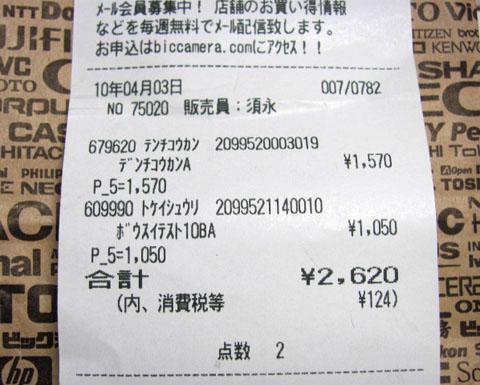 2620円の内訳