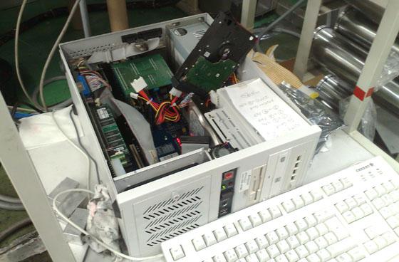 HDD換装