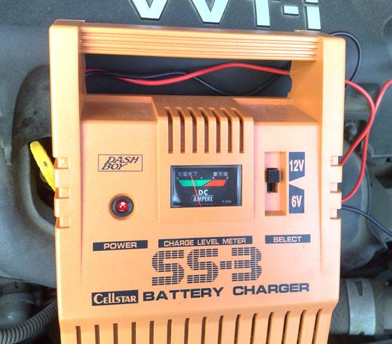 バッテリー充電量