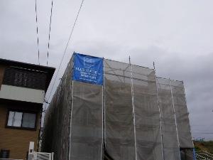 5月22日・外部足場