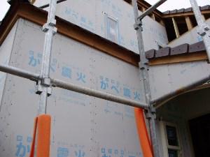5月22日・壁震火施工