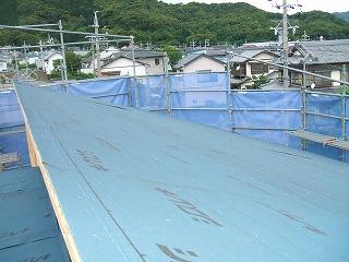 屋根防水ルーフィング1