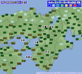 1月14日気温