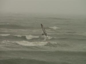2月26日大田浜の沖
