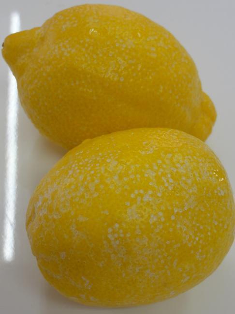 農薬レモン