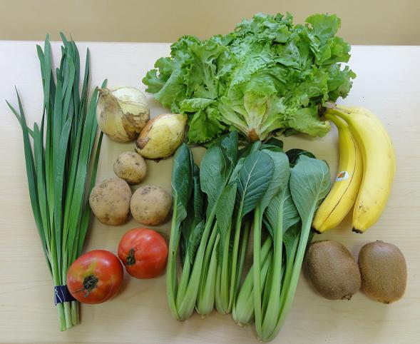 有機野菜セット内容