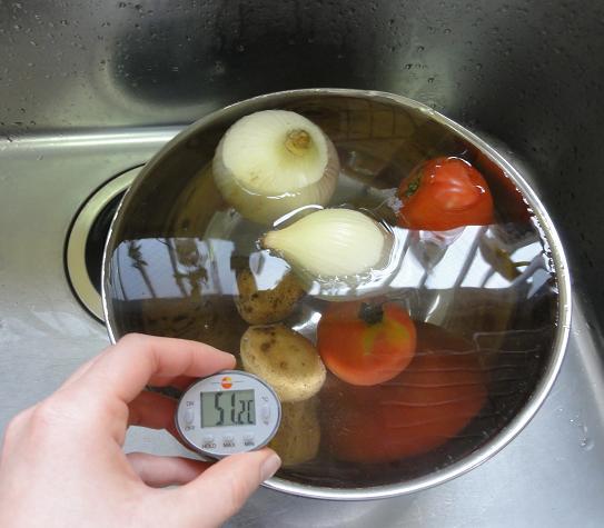 玉ねぎ他50度洗い