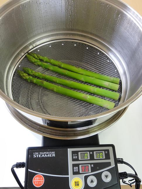 蒸し上がり鍋
