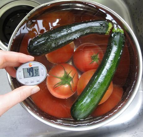 トマトズッキーニ50℃洗い