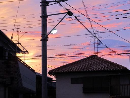 20110624・朝焼け3