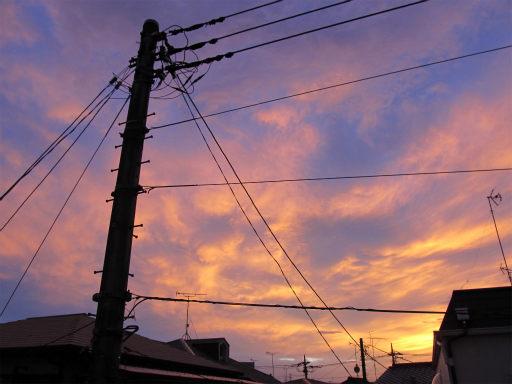 20110624・朝焼け2