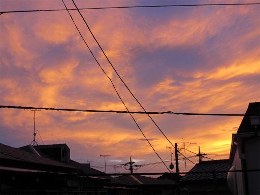 20110624・朝焼け1