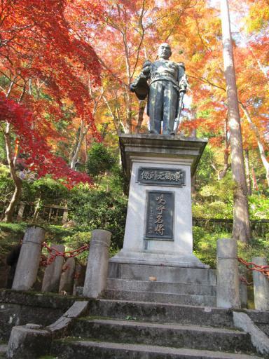 20111123・紅葉02・東郷元帥