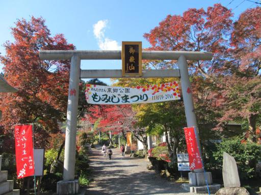 20111123・紅葉01・東郷公園