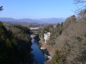 龍角峰からの景色2008?12