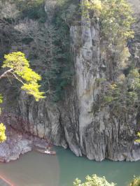 天竜峡の景色