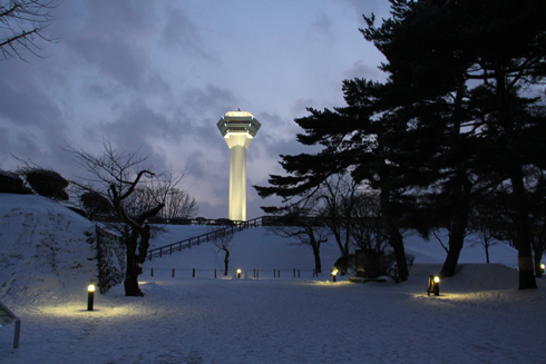 2011五稜郭冬夕-11