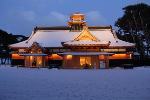 2011五稜郭冬夕-9